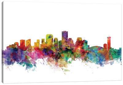 New Orleans, Louisiana Skyline Canvas Art Print