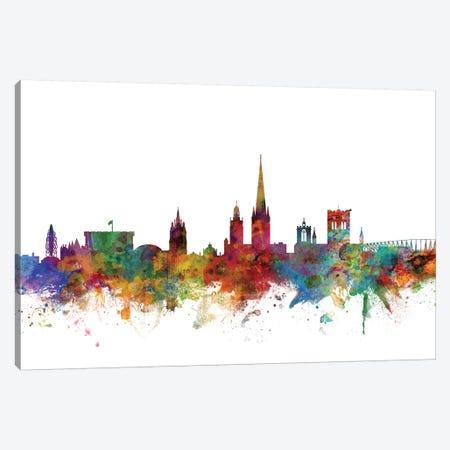 Norwich, England Skyline Canvas Print #MTO1121} by Michael Tompsett Art Print