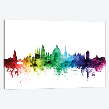 Oxford, England, United Kingdom Canvas Print #MTO112} by Michael Tompsett Art Print