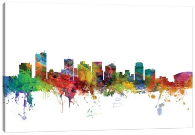 Phoenix, Arizona Skyline Canvas Art Print