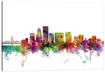Portland, Oregon Skyline Canvas Art Print