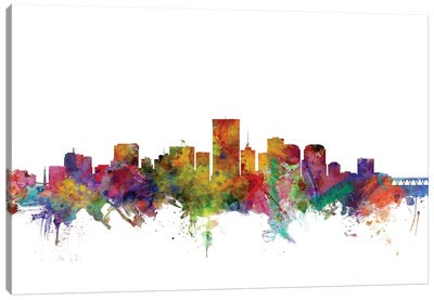 Richmond, Virginia Skyline Canvas Art Print