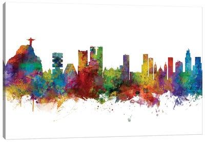 Rio de Janeiro, Brazil Skyline Canvas Art Print