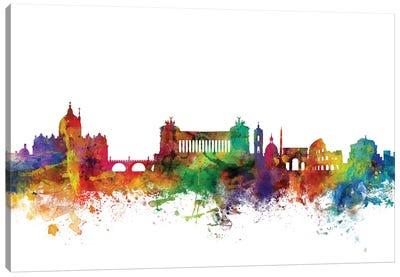 Rome, Italy Skyline Canvas Art Print