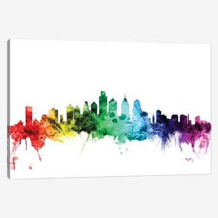 Philadelphia, Pennsylvania, USA Canvas Print #MTO114} by Michael Tompsett Canvas Wall Art