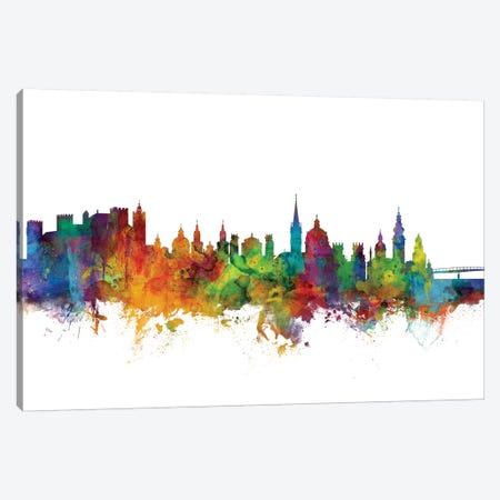 Salzburg, Austria Skyline Canvas Print #MTO1150} by Michael Tompsett Canvas Art
