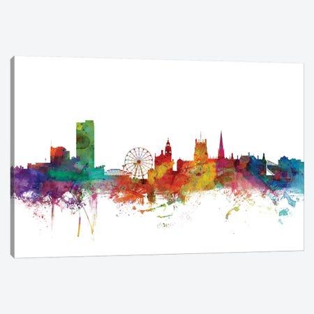 Sheffield, England Skyline Canvas Print #MTO1160} by Michael Tompsett Canvas Print