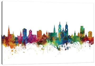 St. Gallen, Switzerland Skyline Canvas Art Print