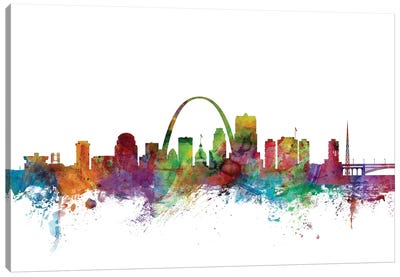 St. Louis, Missouri Skyline Canvas Art Print