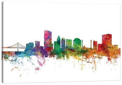 Toledo, Ohio Skyline Canvas Art Print