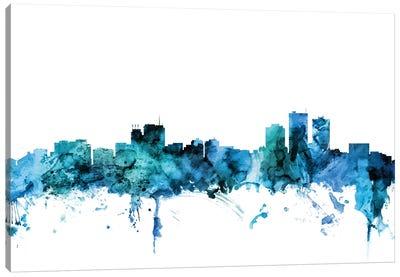 Anchorage, Alaska Skyline Canvas Art Print