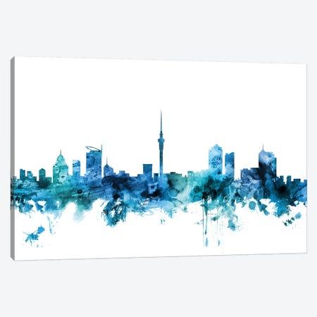 Auckland, New Zealand Skyline Canvas Print #MTO1219} by Michael Tompsett Art Print