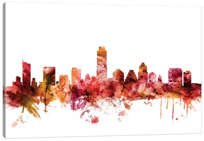 Austin, Texas Skyline Canvas Art Print