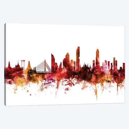 Bangkok, Thailand Skyline Canvas Print #MTO1224} by Michael Tompsett Canvas Print