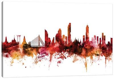 Bangkok, Thailand Skyline Canvas Art Print