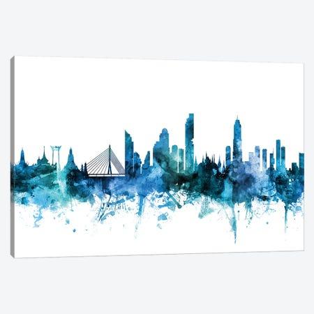 Bangkok, Thailand Skyline Canvas Print #MTO1225} by Michael Tompsett Canvas Art Print
