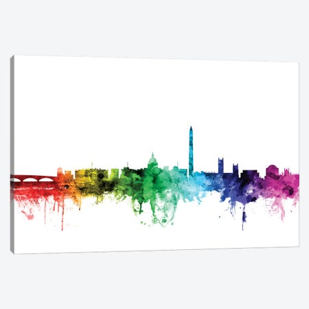 Washington, D.C., USA Canvas Print #MTO122} by Michael Tompsett Canvas Art