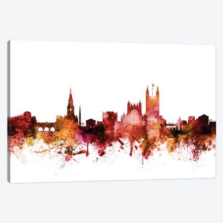 Bath, England Skyline Cityscape Canvas Print #MTO1230} by Michael Tompsett Art Print