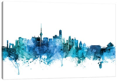 Beijing, China Skyline Canvas Art Print