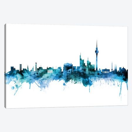 Berlin, Germany Skyline 3-Piece Canvas #MTO1236} by Michael Tompsett Canvas Wall Art