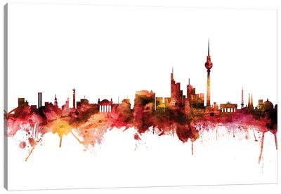 Berlin, Germany Skyline Canvas Art Print