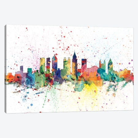 Atlanta, Georgia, USA Canvas Print #MTO123} by Michael Tompsett Canvas Artwork