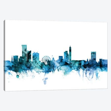 Birmingham, England Skyline Canvas Print #MTO1241} by Michael Tompsett Canvas Art