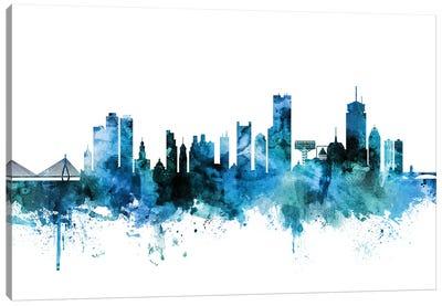 Boston, Massachusetts Skyline Canvas Art Print