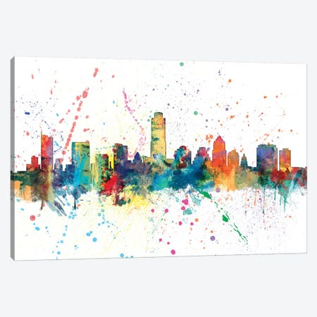 Austin, Texas, USA Canvas Print #MTO124} by Michael Tompsett Canvas Print