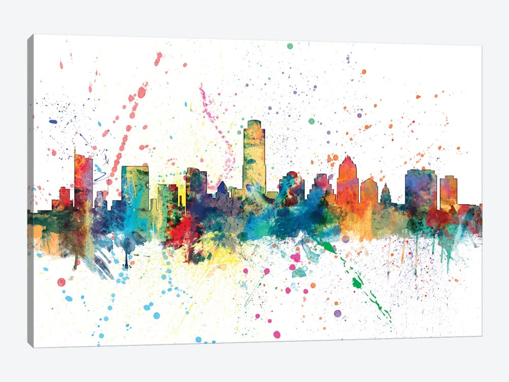 Austin, Texas, USA by Michael Tompsett 1-piece Canvas Art