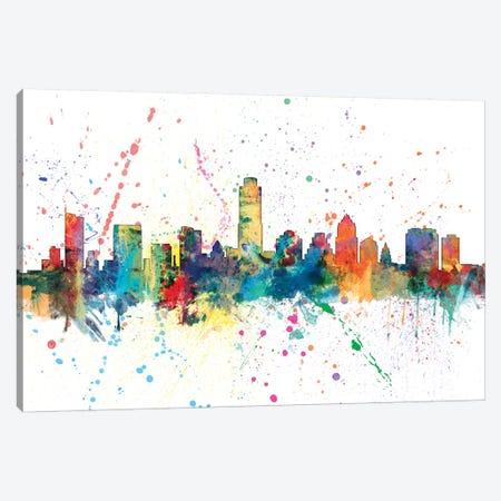 Austin, Texas, USA Canvas Print #MTO124} by Michael Tompsett Canvas Print