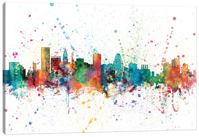 Baltimore, Maryland, USA Canvas Art Print