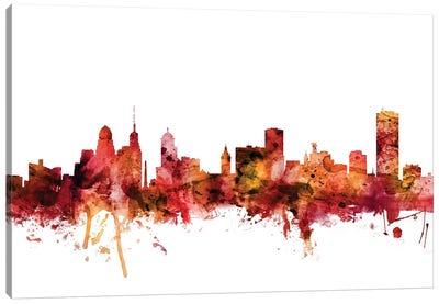 Buffalo, New York Skyline Canvas Art Print