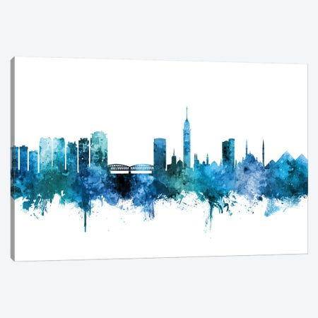 Cairo, Egypt Skyline Canvas Print #MTO1262} by Michael Tompsett Canvas Wall Art