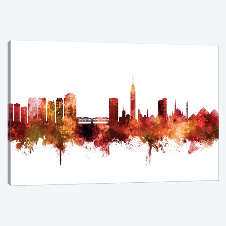 Cairo, Egypt Skyline Canvas Print #MTO1263} by Michael Tompsett Canvas Wall Art