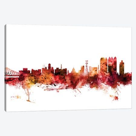 Calcutta (Kolkata), India Skyline Canvas Print #MTO1264} by Michael Tompsett Canvas Print