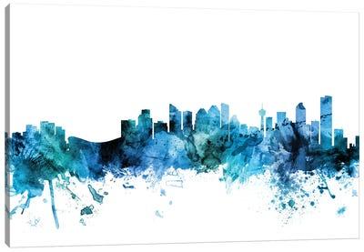 Calgary, Canada Skyline Canvas Art Print