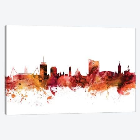 Cardiff, Wales Skyline Canvas Print #MTO1273} by Michael Tompsett Canvas Print