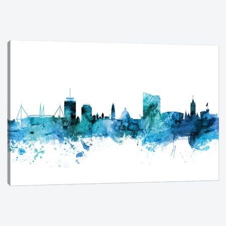 Cardiff, Wales Skyline Canvas Print #MTO1274} by Michael Tompsett Canvas Artwork