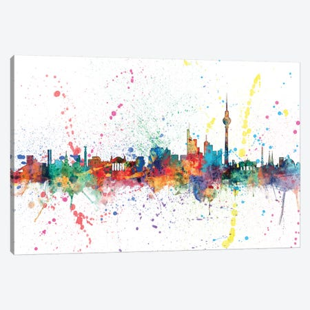 Berlin, Germany Canvas Print #MTO127} by Michael Tompsett Art Print
