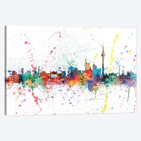 Berlin, Germany 3-Piece Canvas #MTO127} by Michael Tompsett Art Print