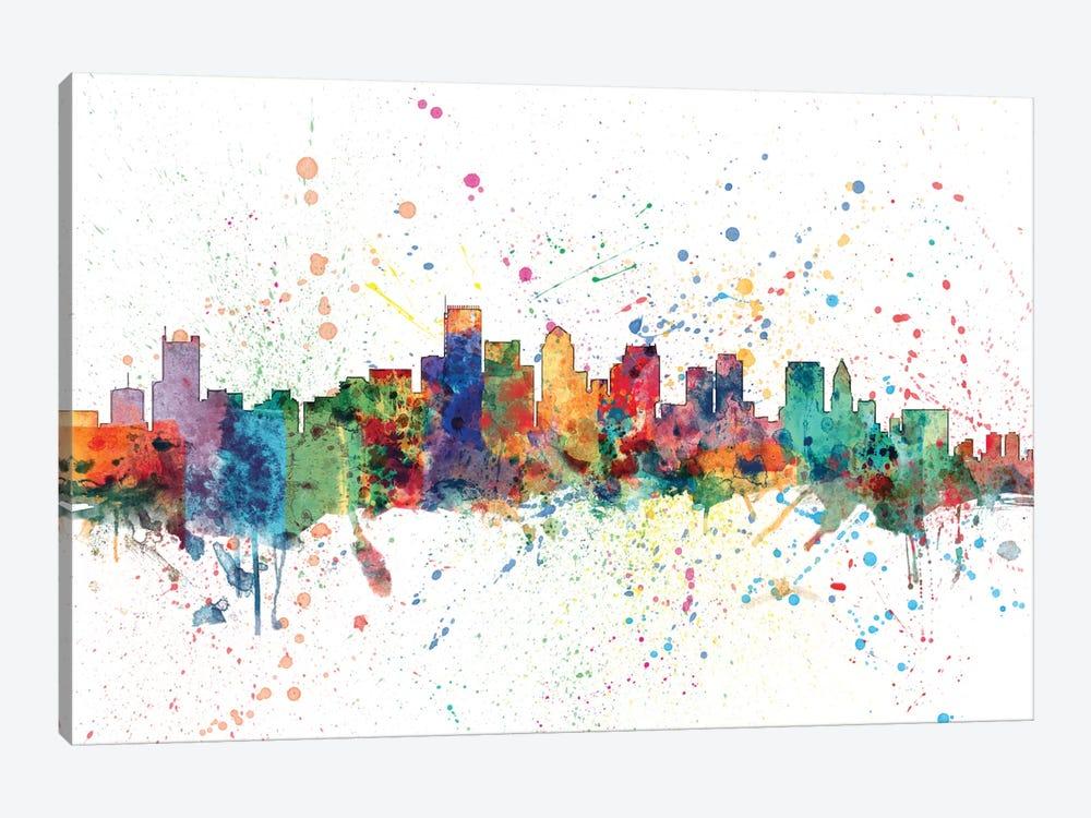 Boston, Massachusetts, USA by Michael Tompsett 1-piece Canvas Art