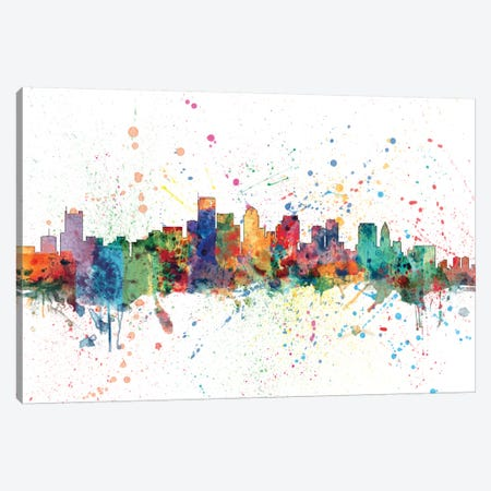 Boston, Massachusetts, USA Canvas Print #MTO128} by Michael Tompsett Canvas Art