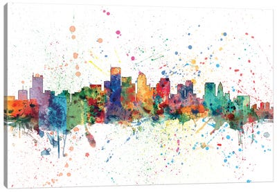 Boston, Massachusetts, USA Canvas Art Print