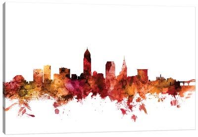 Cleveland, Ohio Skyline Canvas Art Print