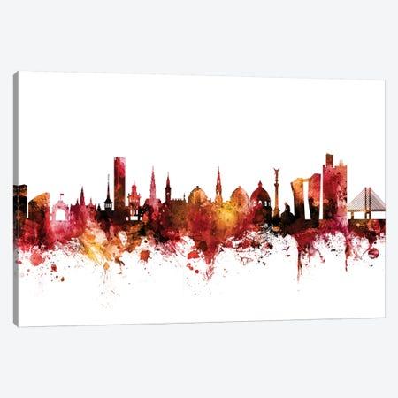 Copenhagen, Denmark Skyline Canvas Print #MTO1299} by Michael Tompsett Canvas Art Print