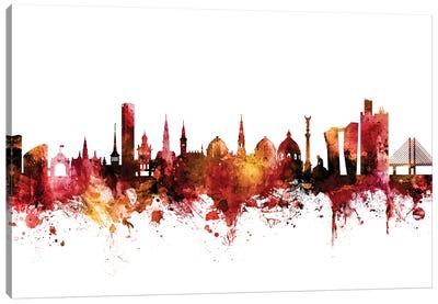 Copenhagen, Denmark Skyline Canvas Art Print