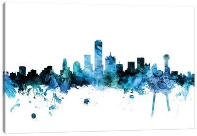 Dallas, Texas Skyline Canvas Art Print