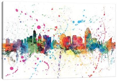 Cincinnati, Ohio, USA Canvas Art Print