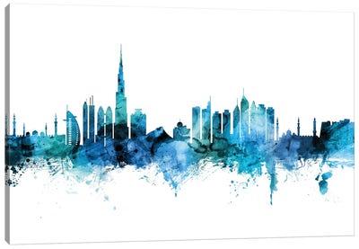 Dubai, UAE Skyline Canvas Art Print